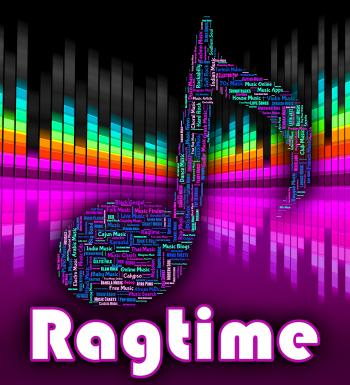 Ragtime Music Means Sound Tracks And Audio