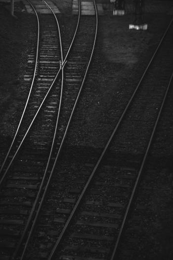 Railroad tracks II