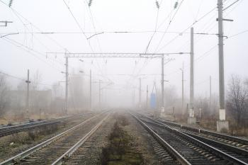 Rails into the mist