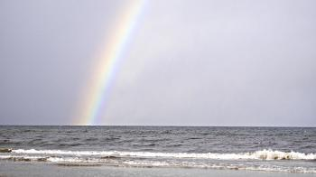Rainbow at the Sea