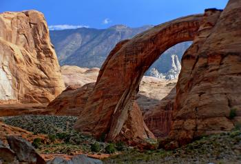 Rainbow Bridge.National Monument.Utah.