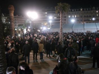 Rassemblement de soutien à Charlie Hebdo - 7 janvier 2015 - Toulon - P1980265