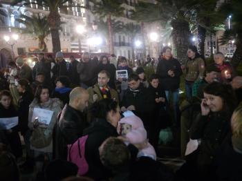 Rassemblement de soutien à Charlie Hebdo - 7 janvier 2015 - Toulon - P1980303