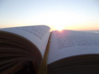 reading until sunset