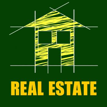Real Estate Means On The Market And Apartment
