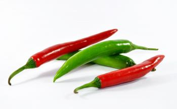 Red and Green Chilli