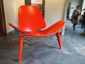 Red Chair at Design Museum, Copenhagen