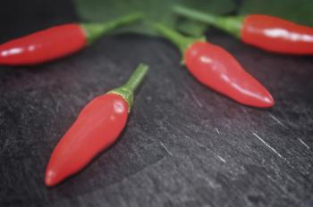 Red Chilli Peppers - Close-Up