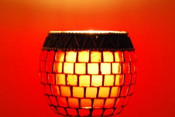 Red lamp