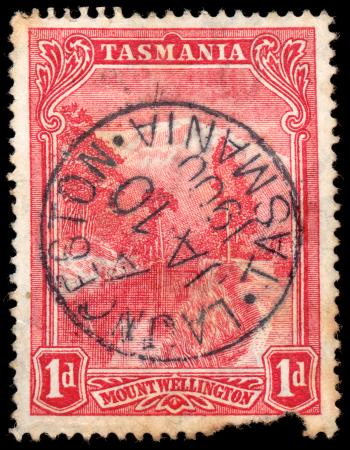 Red Mount Wellington Stamp