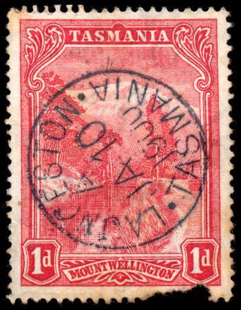 Red Mount Wellington Stamp