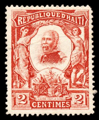 Red Pierre Nord Alexis Stamp