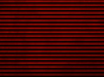 Red Venetian Blinds Effect