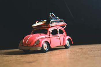 Red Volkswagen Toy