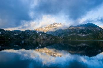 Reflecting Landscape Scene