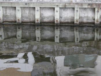 Reflecting waterside