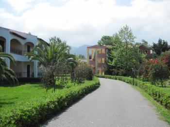 Resort in Corfu, Greece