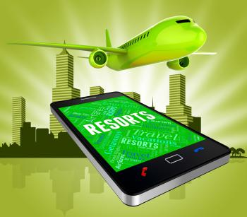 Resorts Online Shows Web Site And Aircraft