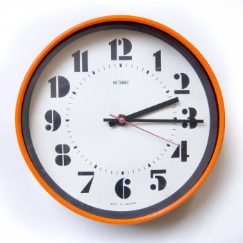 Retro vintage clock