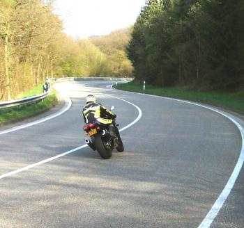 Riding the Curves of the Eifel region