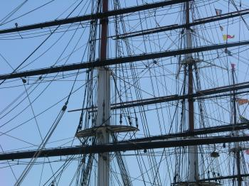Rigging on the Ship