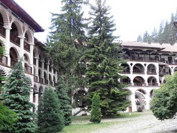 Rila Monastery in Bulgaria.