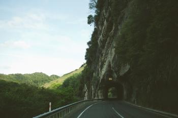 Road under the Mountain