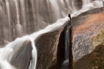 Rock Run Falls Close-up