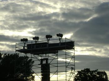Rockfest towers
