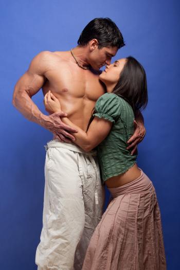 Romance novel photo