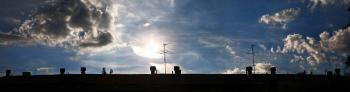 roof silhouette