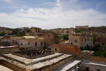Roofs in Fes