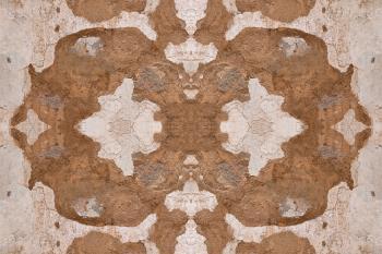 Rorschach Grunge Wall - HDR Texture