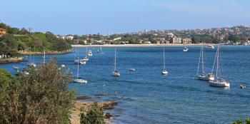 Rose Bay from Vaucluse