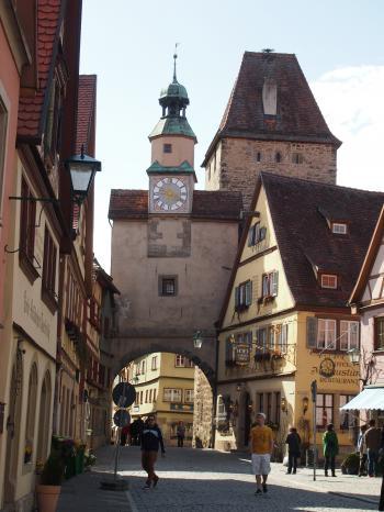Rothenburg Church Tower