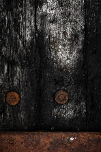 Rotting Wooden Background