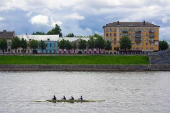 Rowers in Tver