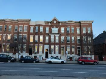 Rowhouse group, 2500 block of Saint Paul Street, Baltimore, MD 21218