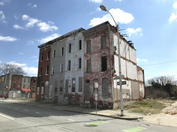 Rowhouse group, 615-621 E. Biddle Street, Baltimore, MD 21202