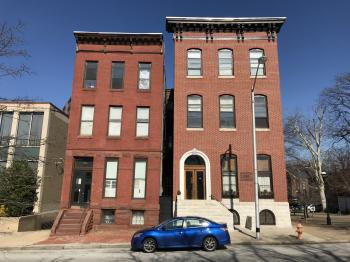 Rowhouses, 1501-1503 Eutaw Place, Baltimore, MD 21217