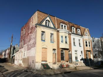 Rowhouses, 200 block of E. 23rd Street, Baltimore, MD 21218