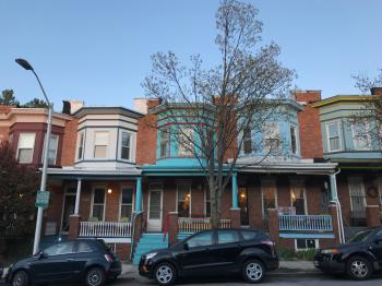 Rowhouses, 3000 block (east side) of Barclay Street, Baltimore, MD 21218