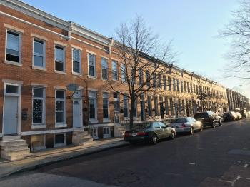 Rowhouses, 400 block of E. Lorraine Avenue, Baltimore, MD 21218
