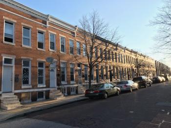 Rowhouses, 400 block of E. Lorraine Avenue, Baltimore, MD 21218