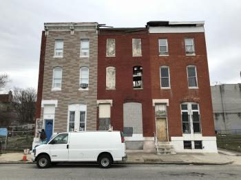 Rowhouses, 702-709 N. Calhoun Street, Baltimore, MD 21223