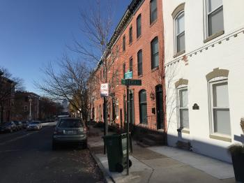 Rowhouses, Lombard Street, Baltimore, MD