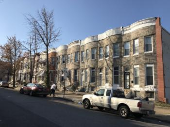 Rowhouses, Oak Hill Avenue, Baltimore, MD