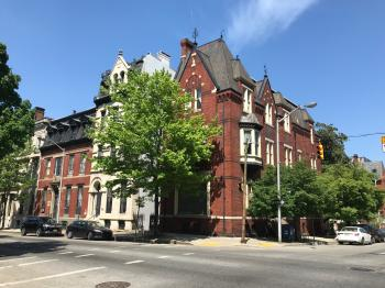 Rowhouses, Saint Paul Street and E. Biddle Street (northeast corner), Baltimore, MD 21202