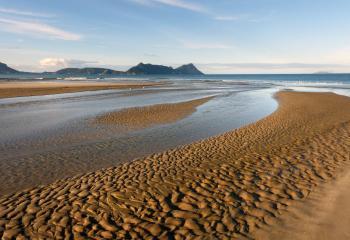 Ruakaka River mouth. Bream Bay. NZ