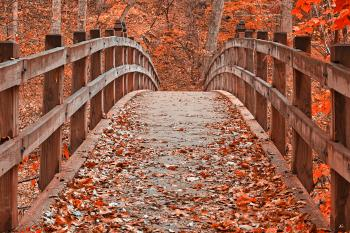 Ruby Red Bridge - HDR